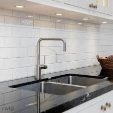 Aço Inoxidável Torneira De Cozinha - Nivito 2-RH-300