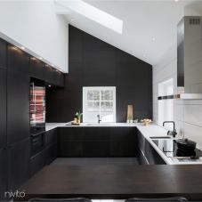 Cozinha agua torneira preto