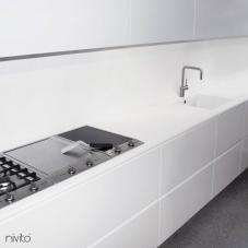 Escovado aco agua torneira