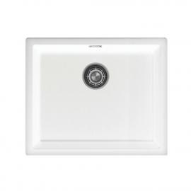 Branco Bacia De Cozinha - Nivito CU-500-GR-WH