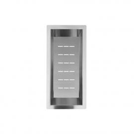 Aço Inoxidável Tigela Filtro - Nivito CU-WB-200-B