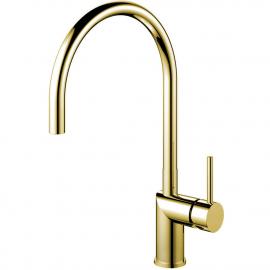 Ouro/latão Torneira De Cozinha - Nivito RH-160