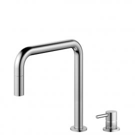 Aço Inoxidável Torneira De Cozinha Mangueira de arrancamento / Corpo/Tubo Separados - Nivito RH-300-VI