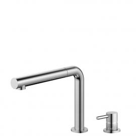 Aço Inoxidável Torneira De Cozinha Mangueira de arrancamento / Corpo/Tubo Separados - Nivito RH-600-VI