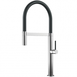 Aço Inoxidável Torneira De Cozinha Mangueira de arrancamento / Escovado/Preto - Nivito SH-200